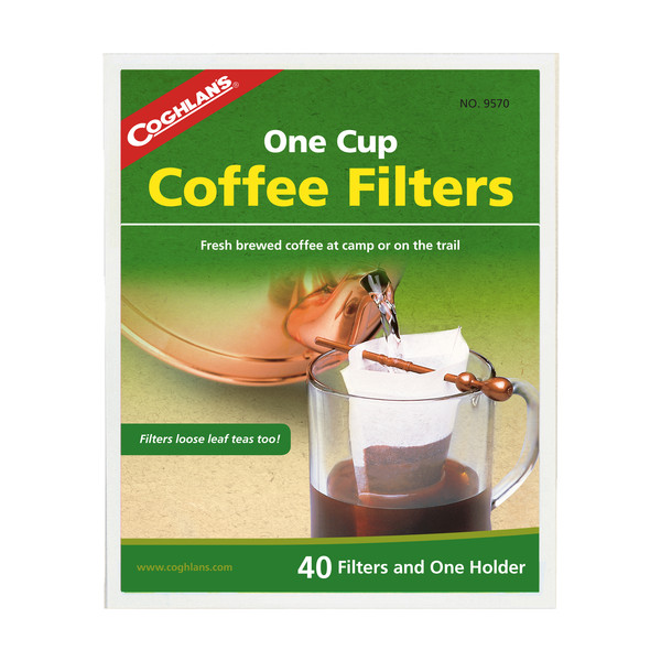 Kaffee-Filtertüten mit Halter