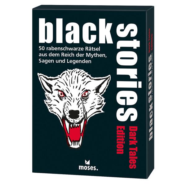 BLACK STORIES DARK TALES EDITION Kinder - Reisespiele