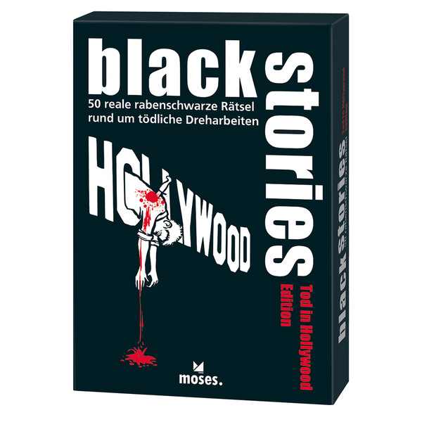 BLACK STORIES - TOD IN HOLLYWOOD - Reisespiele