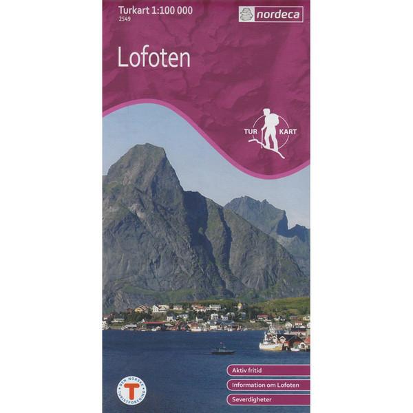 Turkart Lofoten 1:100 000