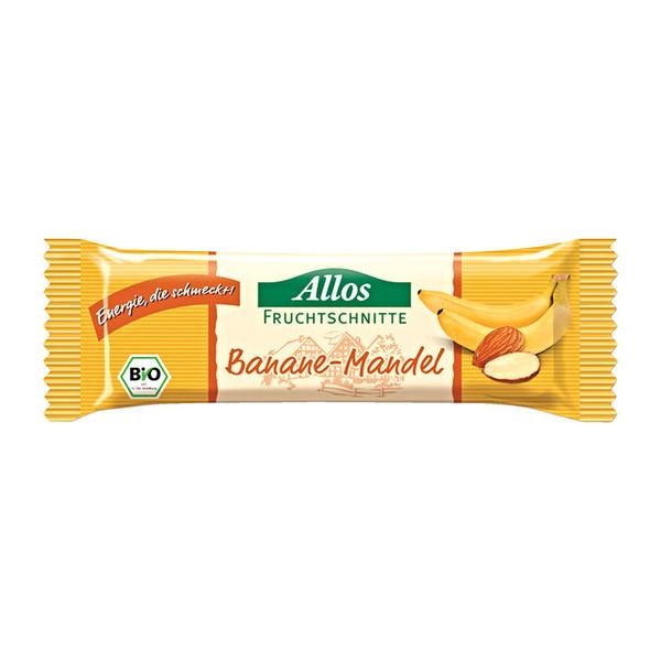 Allos Banane-Mandel Schnitte - Müsliriegel