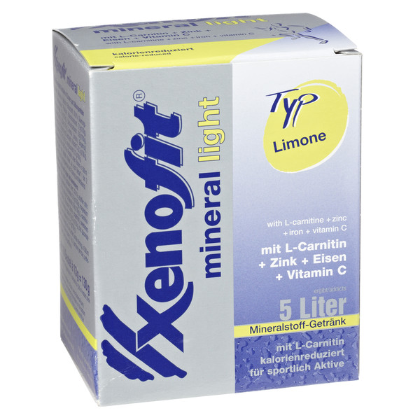 Xenofit Mineral light Limone - Energiedrink