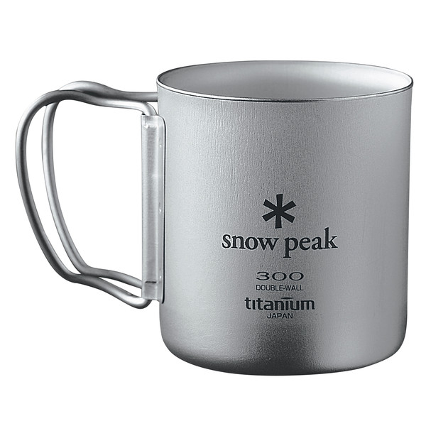 Snow Peak Titan Thermobecher Faltgriff - Thermobecher