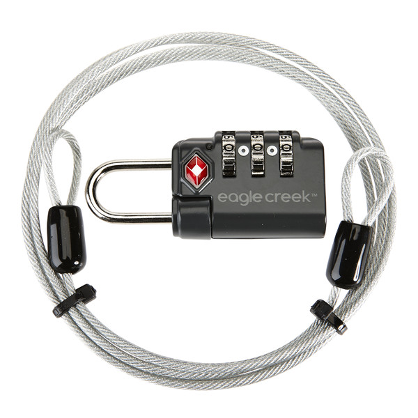Eagle Creek 3-DIAL TSA LOCK &  CABLE Unisex - Gepäcksicherung