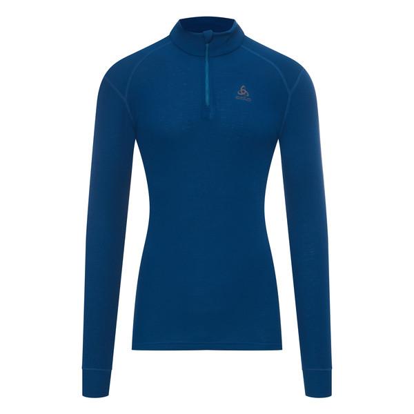 Odlo Warm L/S Zip-Shirt Männer - Funktionsunterwäsche