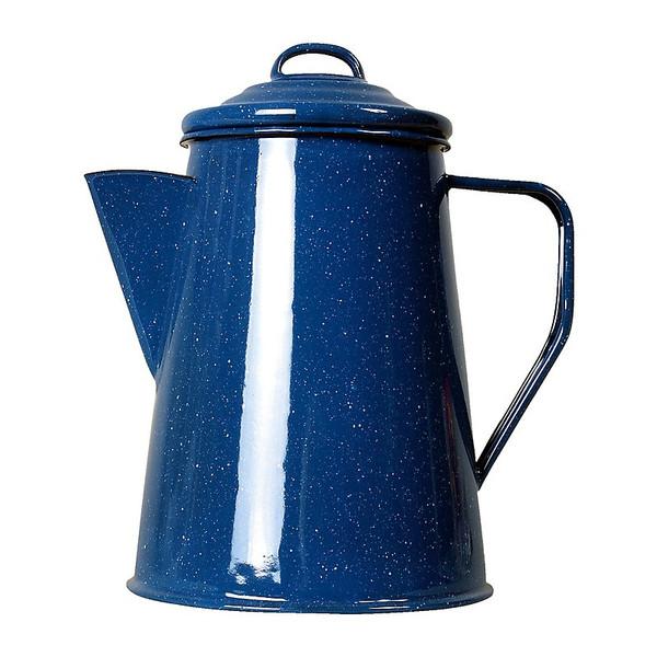 Emaille Kaffeekanne