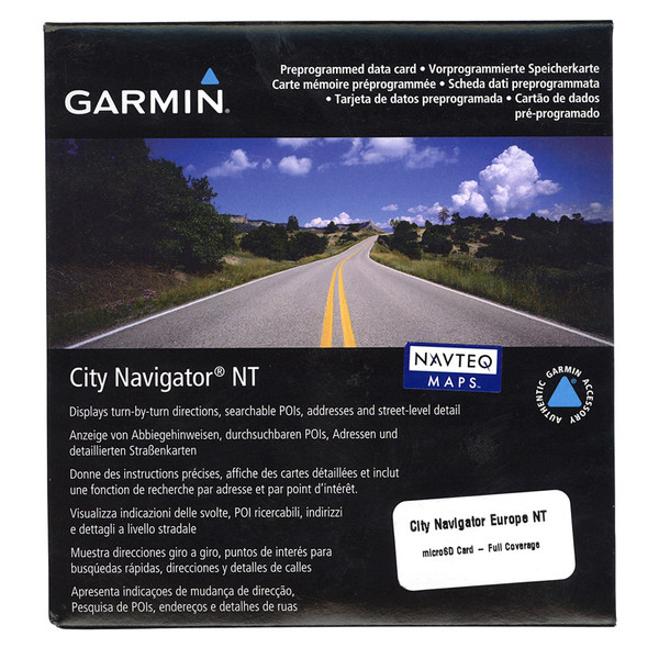 Garmin Datenkarte City Navigator Europa NT