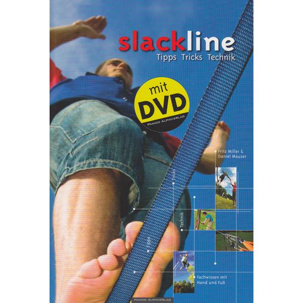 Lehrbuch Slackline incl. DVD