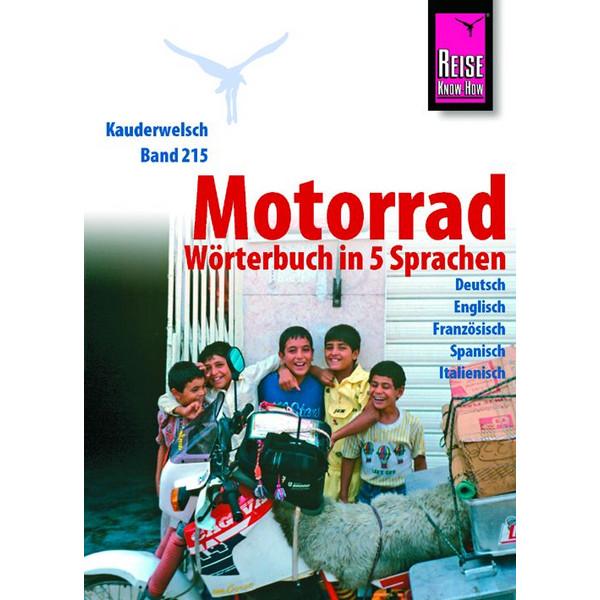 RKH Kauderwelsch Motorrad-Wörterbuch