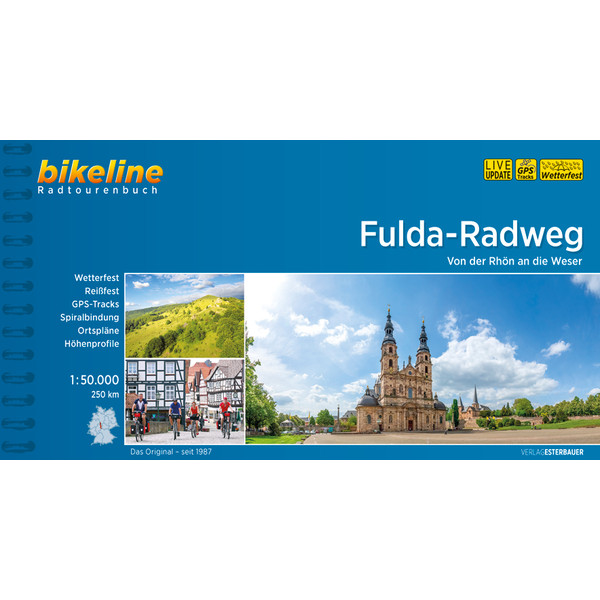 Bikeline Fulda Radweg