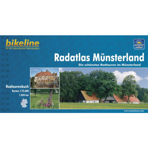 Bikeline Radatlas Münsterland