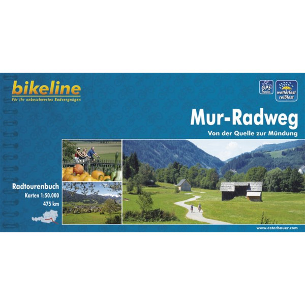 BIKELINE MUR-RADWEG - Radwanderführer