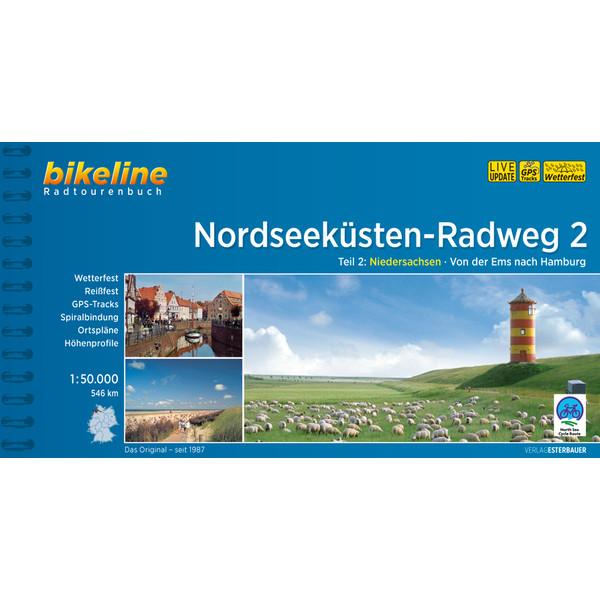 Bikeline Nordseeküsten-Radweg 2