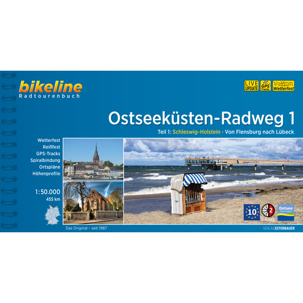 Bikeline Ostseeküsten-Radweg 1
