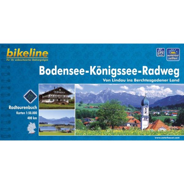 Bikeline Bodensee-Königssee-Radweg