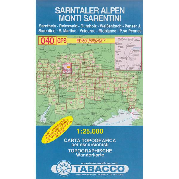 Tabacco 040 Sarntaler Alpen