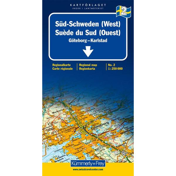 KuF Schweden 02 1 : 250 000