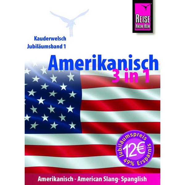 RKH Kauderwelsch Amerikanisch 3 in 1