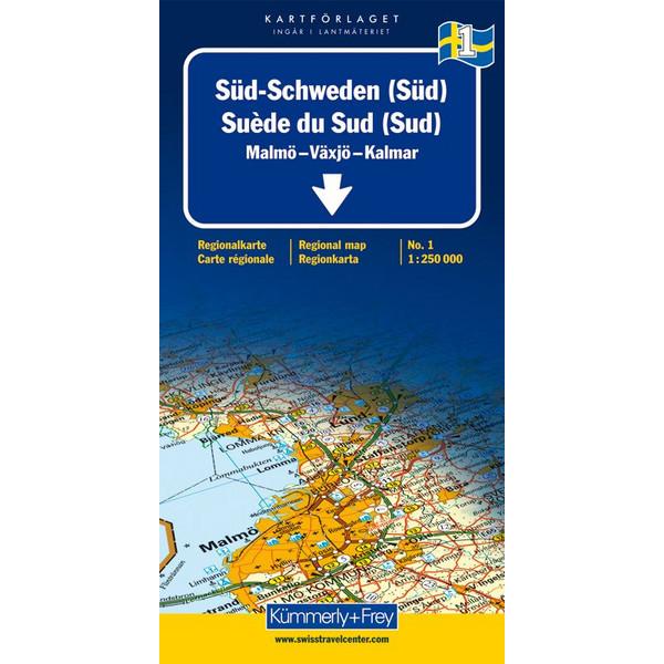KuF Schweden 01 1 : 250 000