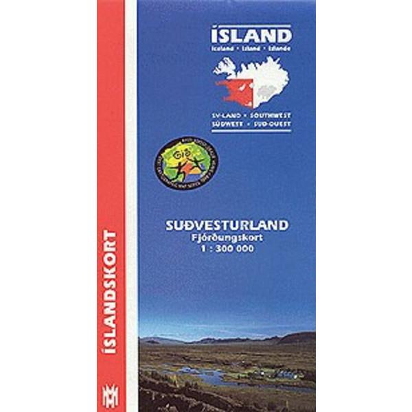 Island Südwest 1:300 000