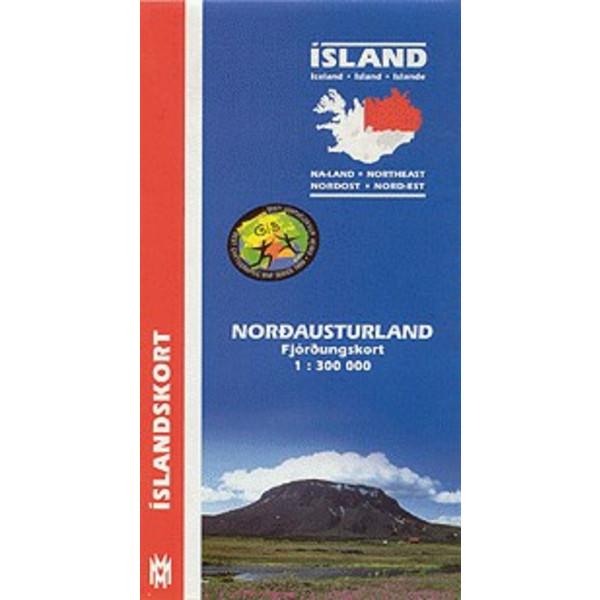 Island Nordost 1:300 000