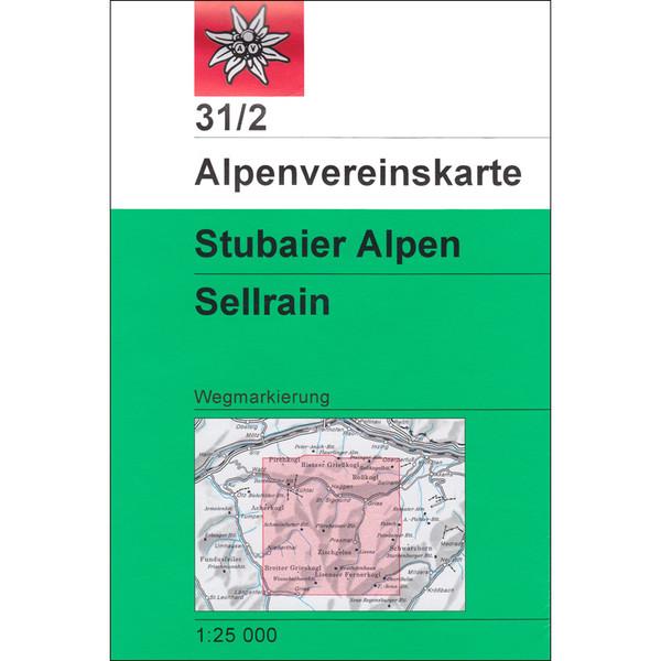 DAV 31/2 WEG STUBAIER ALPEN SELLRAIN