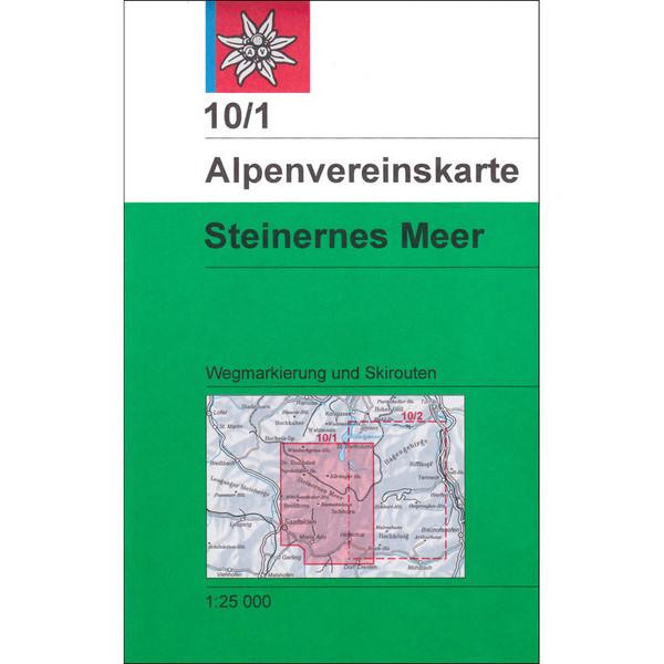 DAV 10/1 STEINERNES MEER - Wanderkarte
