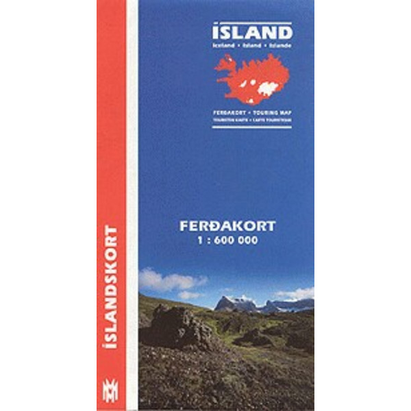 Island Touring Map 1:600 000