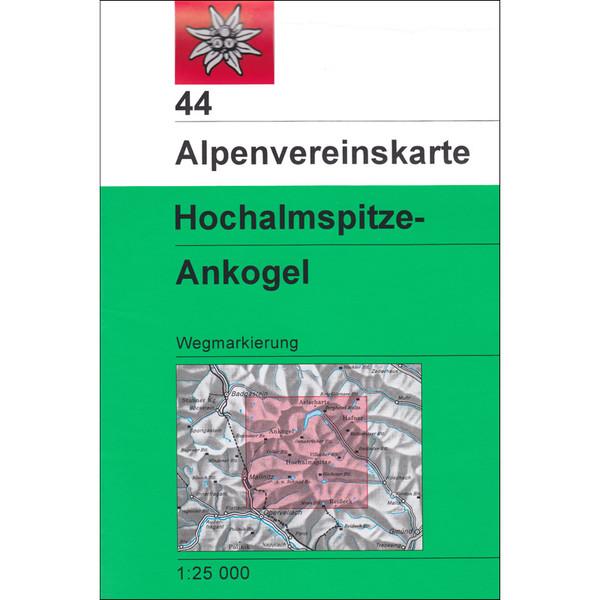 DAV 44 ANKOGEL - HOCHALMSPITZE - Wanderkarte