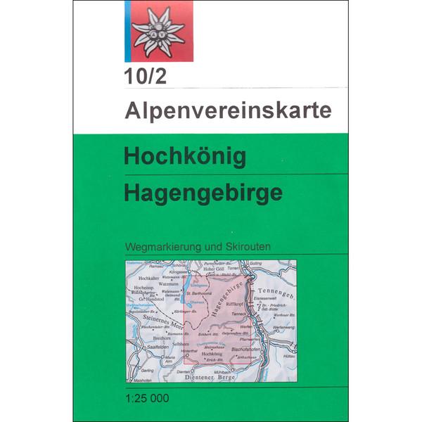 DAV 10/2 Hochkönig - Hagengebirge 1:25T