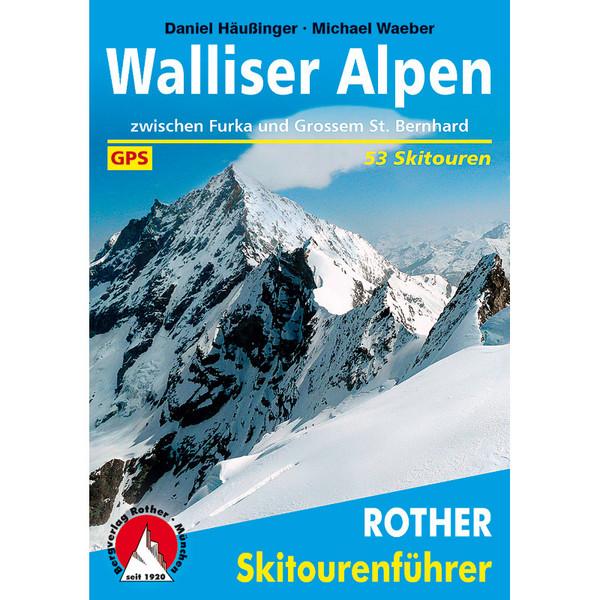 BvR Skitourenführer Walliser Alpen
