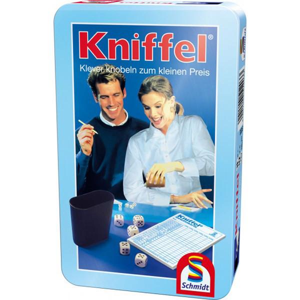 Kniffel in Metalldose
