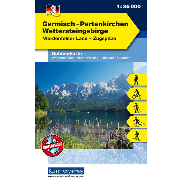 Outdoorkarte 03 Garmisch-Partenkirchen