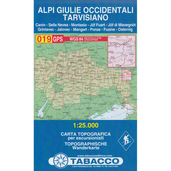 TABACCO 019 ALPI GIULIE OCCIDENTALI