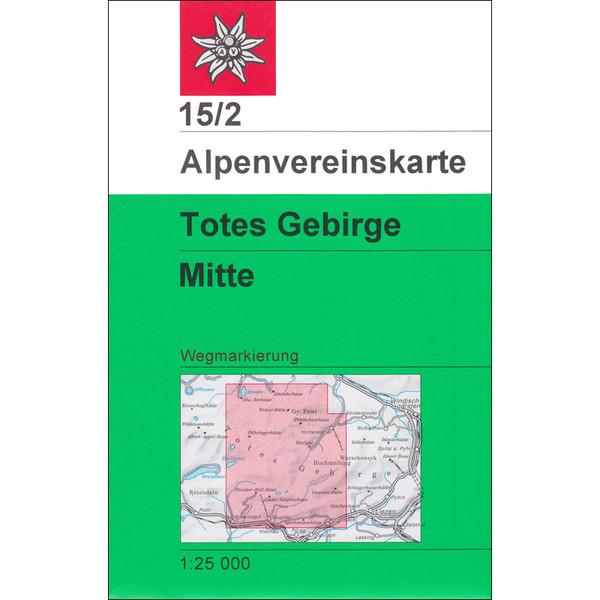 DAV 15/2 Totes Gebirge Mitte 1:25T