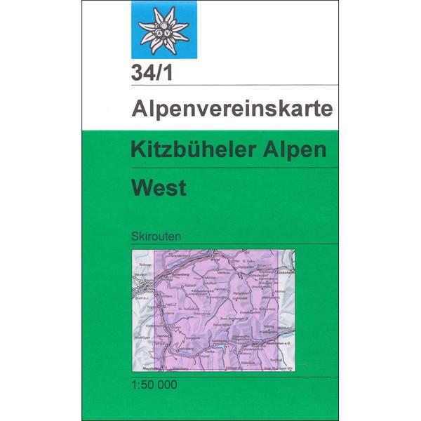 DAV 34/1 Ski Kitzbüheler Alpen - West