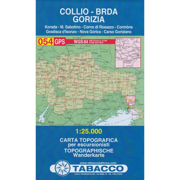 Tabacco 054 Collio/Brda
