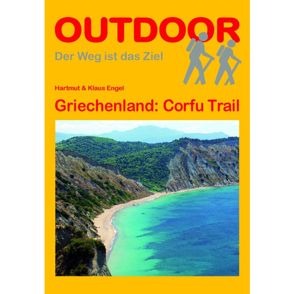 GRIECHENLAND: CORFU TRAIL - Wanderführer