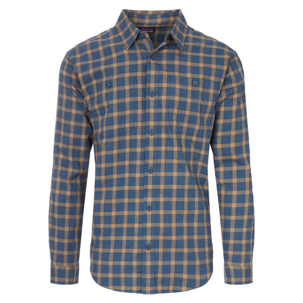 Patagonia L/S Pima Cotton Shirt Männer - Outdoor Hemd