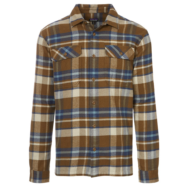 Patagonia L/S Fjord Flannel Shirt Männer - Outdoor Hemd