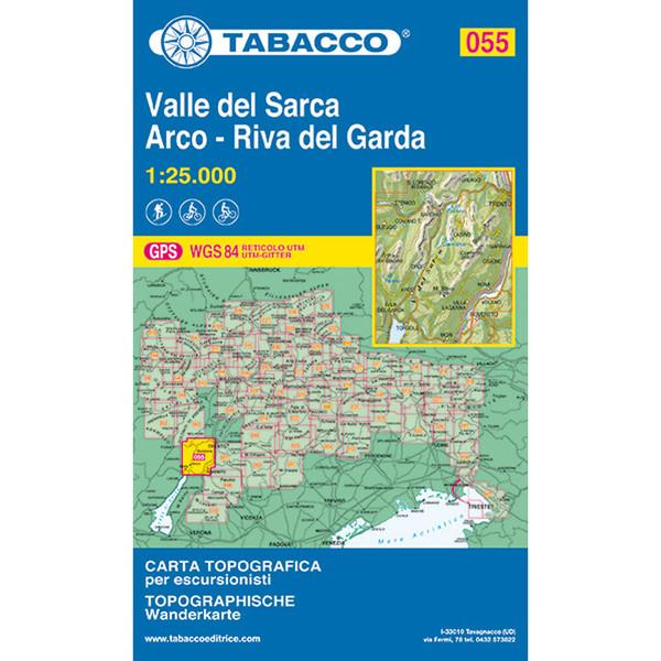Tabacco 055 Valle del Sarca