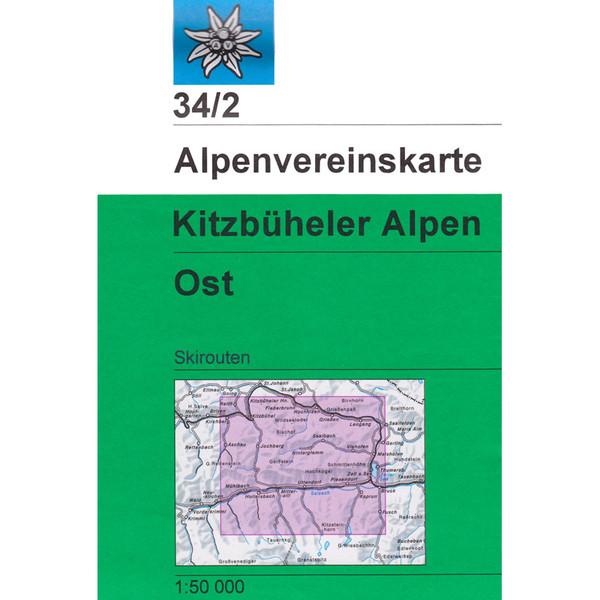 DAV 34/2 Ski Kitzbüheler Alpen Ost