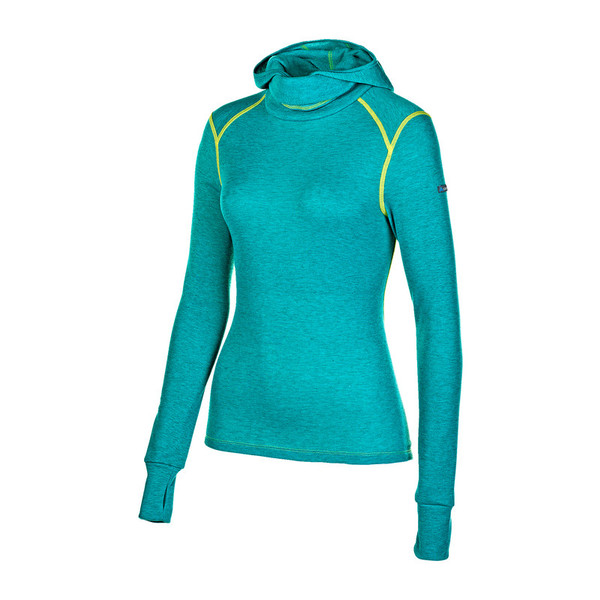 Odlo Warm L/S Shirt Facemask Frauen - Funktionsunterwäsche