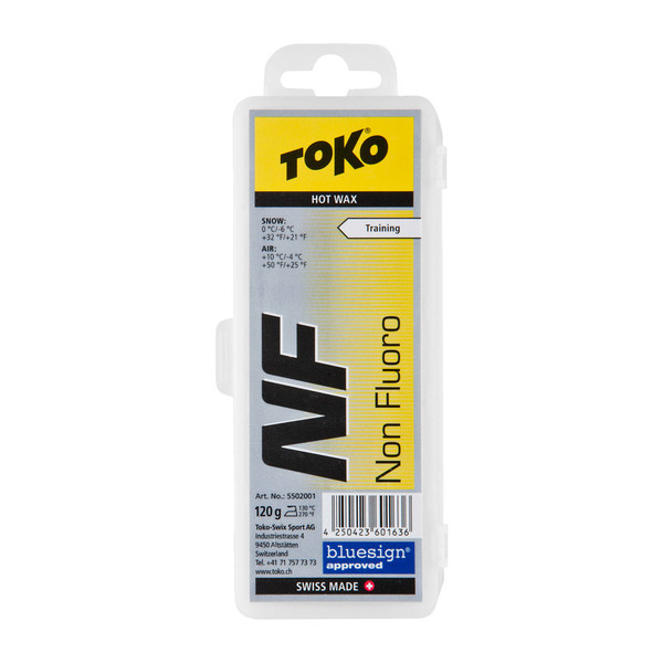 Toko NF Hot Wax yellow 120g - Skiwachs