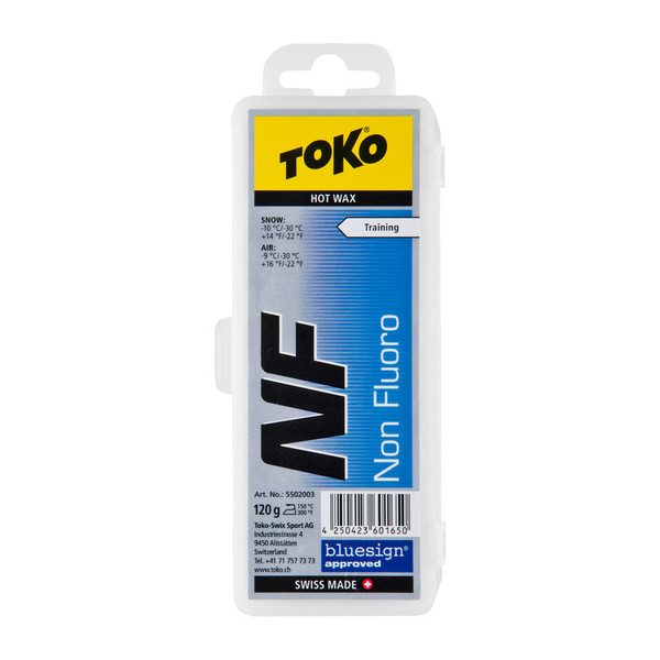 Toko NF Hot Wax blue 120g - Skiwachs