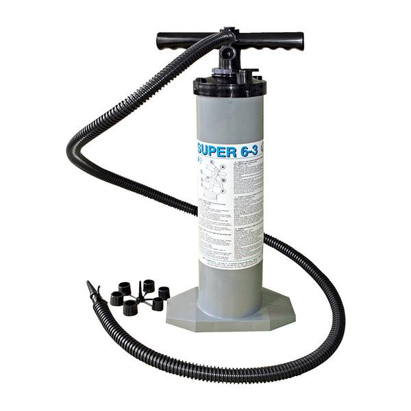 Gumotex Doppelhub-Handpumpe 6/3 - Luftpumpe