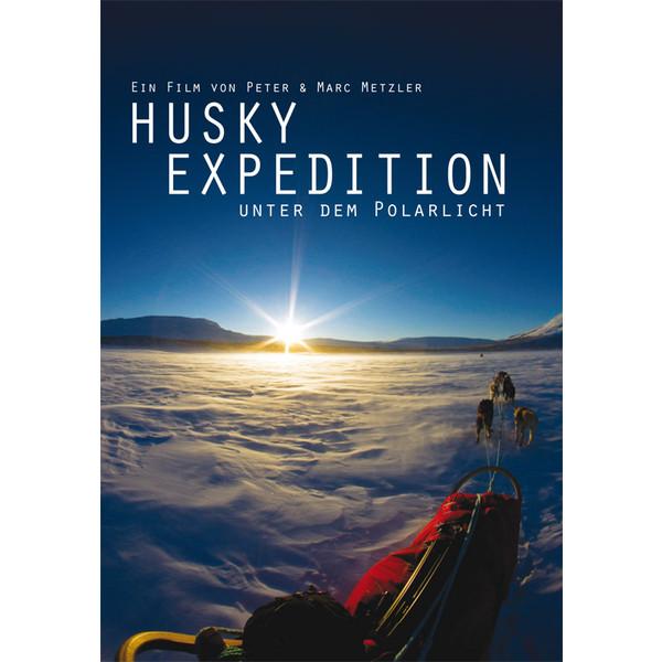 Husky Expedition unter dem Polarlicht