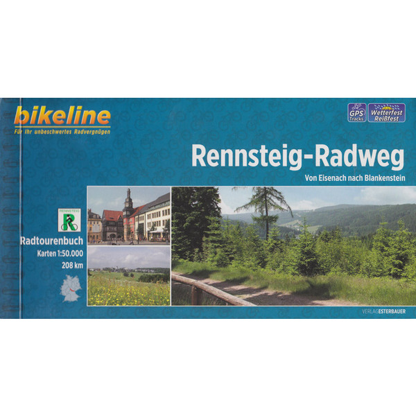 Bikeline Rennsteig-Radweg