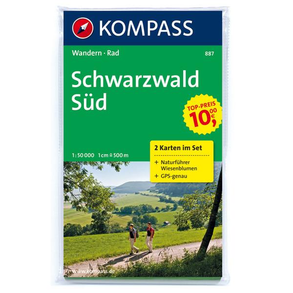 KOKA-887 SET SCHWARZWALD SÜD - Wanderkarte