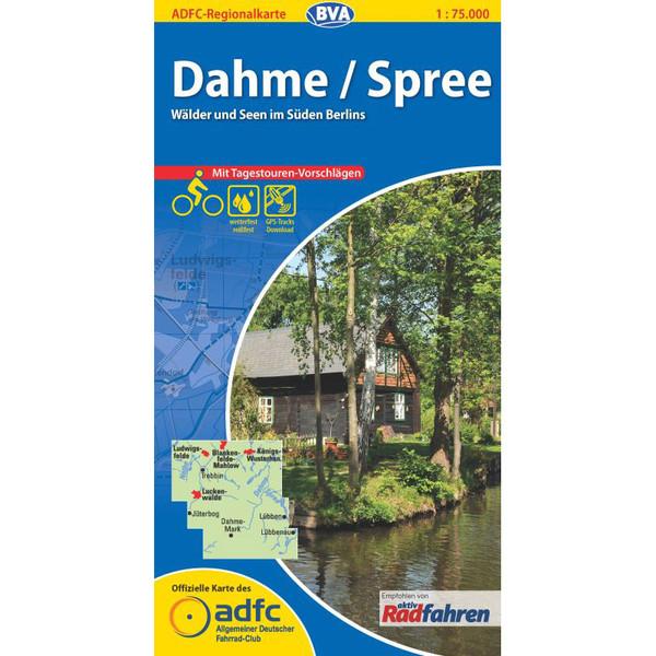 ADFC Regionalkarte Dahme / Spree